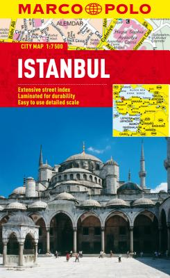 Istanbul Marco Polo City Map By Marco Polo Travel Publishing (COR)